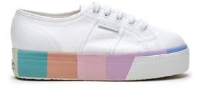 Sole Society 2790 Cotmultifoxingw Platform Sneaker