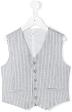 Il Gufo zipped waistcoat