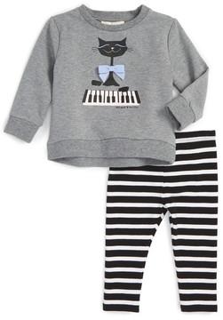 Kate Spade cat sweater & leggings set (Baby Girls)