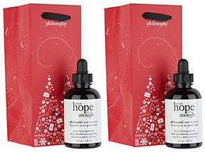 philosophy Super-Size When Hope Is Not Enoughserum Duo