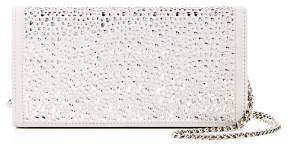 Giuseppe Zanotti Cam Crystal-Embellished Suede Convertible Crossbody