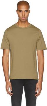 BLK DNM Tan 125 Raw Crewneck T-Shirt