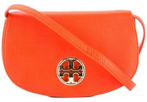 Tory Burch Red Leather Jamie Clutch - ONE COLOR - STYLE