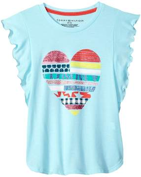 Tommy Hilfiger Heart Tee Girl's T Shirt