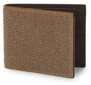 Giuseppe Zanotti Studded Leather Bi-Fold Wallet