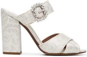 Tabitha Simmons Reynor 100 satin sandals