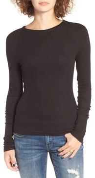 BP Women's Ribbed Long Sleeve Tee