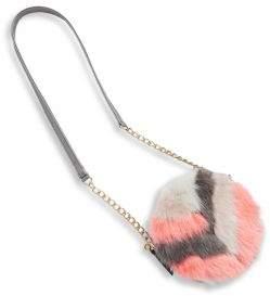Imoga Girl's Nadeen Faux Fur Chain Shoulder Bag