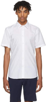 Paul Smith White Short Sleeve Tailored Shirt