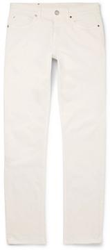 Ermenegildo Zegna Slim-Fit Garment-Dyed Stretch-Denim Jeans