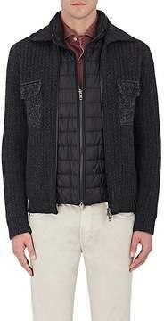 Fay Men's Layered Wool Jacket