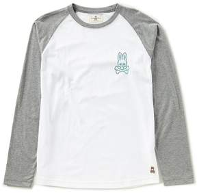 Psycho Bunny Graphic Baseball Long-Sleeve Tee