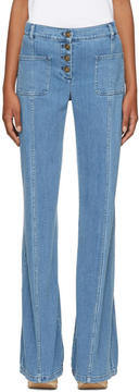 Chloé Blue Flared Jeans