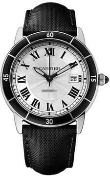 Cartier Ronde Croiseire WSRN0002 Men's Stainless Steel Analog Watch