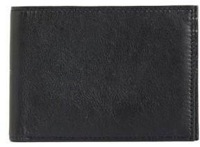 Bosca Men's Id Passcase Wallet - Black