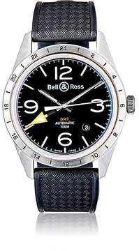 Bell & Ross Men's BR 123 GMT 24H Watch