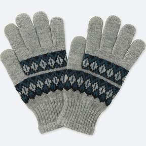 Uniqlo Kid's Heattech Knitted Gloves