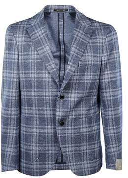 Cantarelli Men's 1142532711596 Light Blue Cotton Blazer.