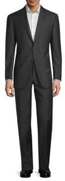 Hickey Freeman Lindsey Pinstripe Wool Suit