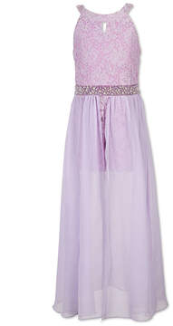 Speechless Beaded Sleeveless Maxi Dress - Big Kid Girls