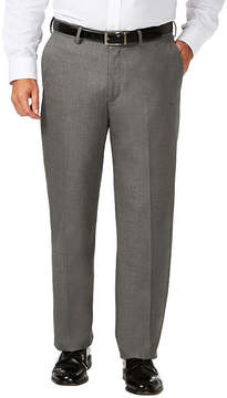 Haggar Jm Dress Pant Classic Fit Flat Front Pants-Big and Tall
