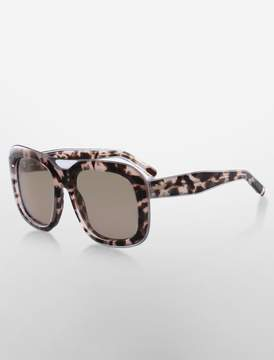 Calvin Klein large square sunglasses