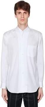 Comme des Garcons Stitched Collar Cotton Poplin Shirt