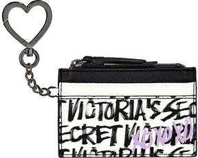 Victoria's Secret Victorias Secret Graffiti Card Case