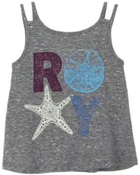 Roxy Girls' Shells Heritage Heather Tank Top