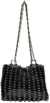 Paco Rabanne Vintage Black Leather Handbag