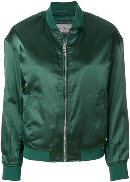 Calvin Klein Jeans satin bomber jacket