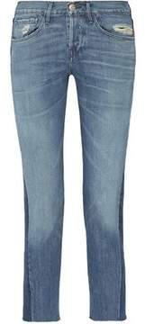 3x1 Cropped Mid-Rise Straight-Leg Jeans