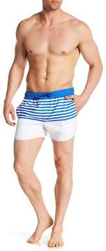 NATIVE YOUTH Clacton Breton Stripe Shorts
