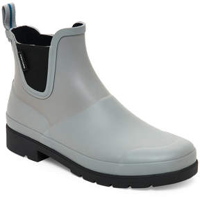 Tretorn Grey & Black Lina Short Rain Boots