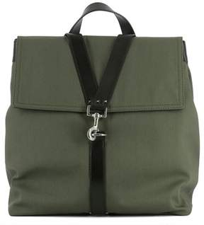 Valentino Men's Green Fabric Backpack.