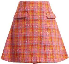 Emilio De La Morena Amber tweed mini-skirt