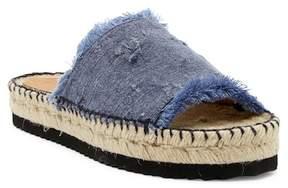 Patricia Green Vintage Espadrille Slide Sandal