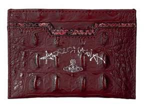 Vivienne Westwood Susie Flat Card Case