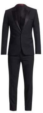 HUGO Aylor/Herys Slim-Fit Stretch Wool Suit