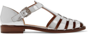Church's Kelsey Metallic Leather Sandals - Silver