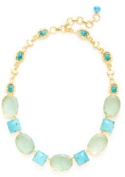 Bounkit Semi-Precious Gemstone Multi-Shape Necklace