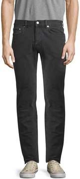 BLK DNM Men's 5 Solid Cotton Straight Fit Jeans