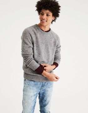 American Eagle Outfitters AE Donegal Crew Neck Sweater