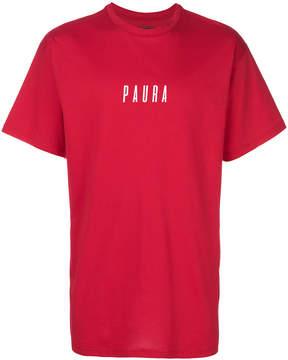 Paura oversized logo T-shirt
