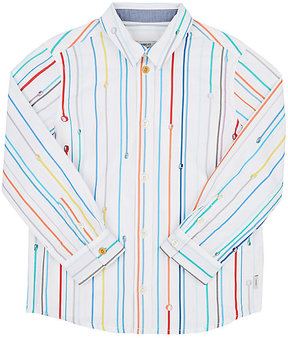Paul Smith STRIPED COTTON POPLIN SHIRT