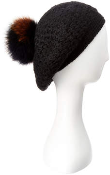Surell Knit Beret With Fleece Lining