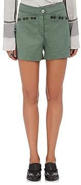 Derek Lam 10 Crosby Women's Linen-Blend Embellished Shorts