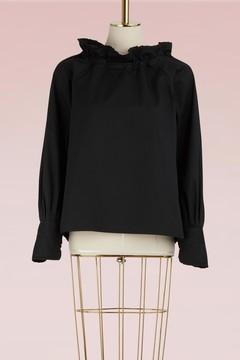 Atlantique Ascoli BohÃame cotton blouse