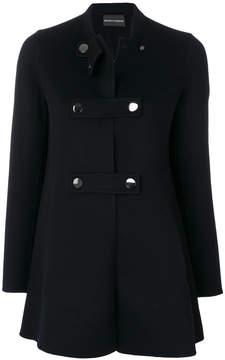 Emporio Armani button-up coat