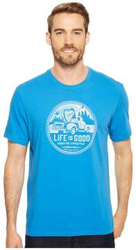 Life is Good Positive Lifestyle Truck Smooth Tee Men's T Shirt